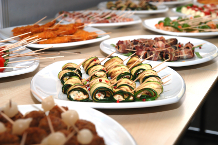 Hors D'oeuvres-Satays-Love For Food Catering