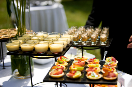 Wedding Reception Catering in Richmond